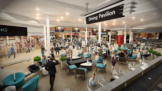 Battlefield Mall is renovating its dining area.