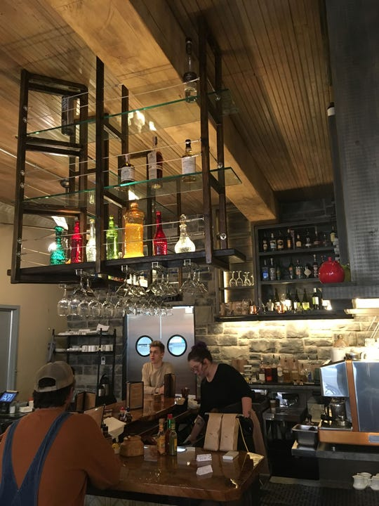 There is a full bar at Morning Day Café, which was handcrafted. The restaurant owner sources local, regional and organic ingredients.