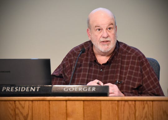 St. Cloud City Council member Jeff Goerger is voted the new president Monday, Jan. 7, at city hall.