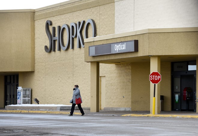 The former Shopko East building, pictured Jan. 8, 2019, will become the site of a Runnings store in fall 2020.