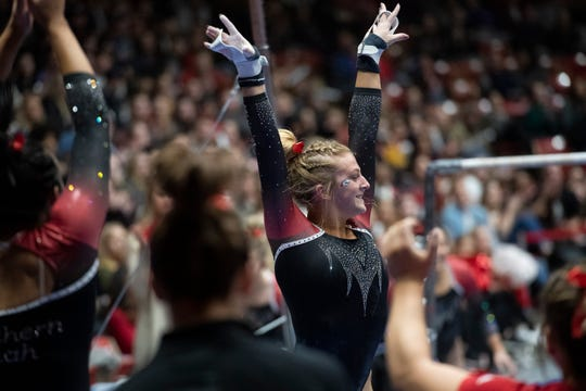"""Southern Utah gymnastics will be one of four teams in a quad """"Best of Utah"""" meet in January 2020."""