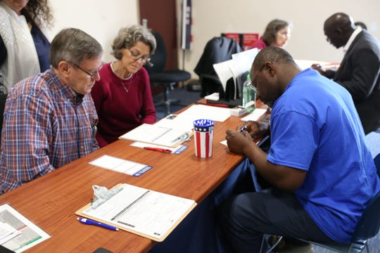The Leon County Supervisor of Elections Office had steady foot-traffic on  Jan. 8, 2019, as Amendment 4 went into effect. Legislators are expected to take up bills clarifying the terms of the initiative.