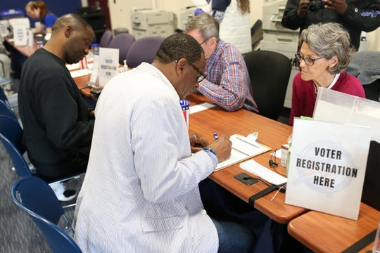 The Leon County Supervisor of Elections office registered scores of felons on Jan. 8 as Amendment 4 went into effect. Legislators plan to take up bills addressing the language of the voter-approved initiative.