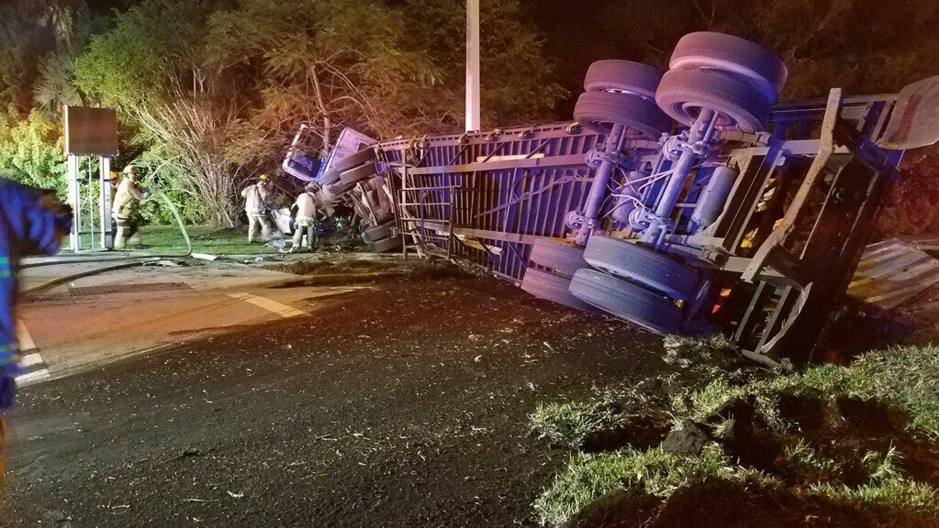 Crash, Indian River County, 27th Avenue