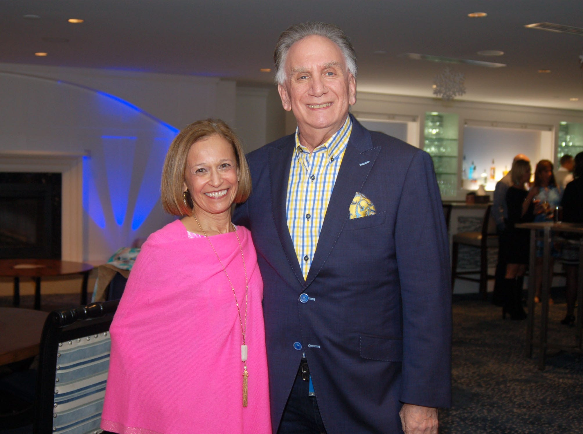 Donna and Bob Goldfarb at Admirals Cove in Jupiter for the VIP kick-off reception for the American Cancer Society's 2019 Celestial Gala.