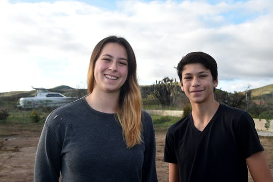 Sierra and Canyon Shannon, of Ventura, created a documentary about and for those who were affected by the Thomas Fire. The siblings and their parents were among people who lost homes when the blaze erupted in December 2017.