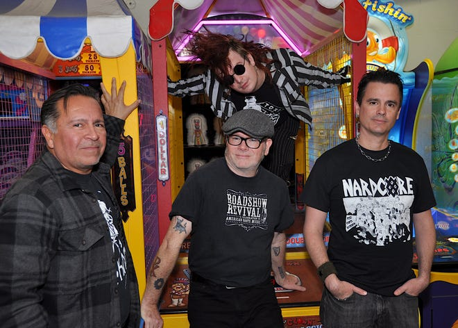 The Hell Toupees play Friday night at San Souci in Ventura.