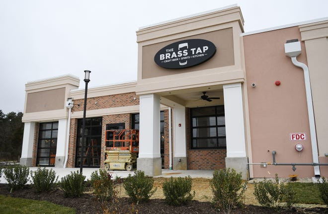The exterior of The Brass Tap in Vineland located at the corner of South Delsea Drive and Sherman Avenue on Monday, Jan. 8. 2019.