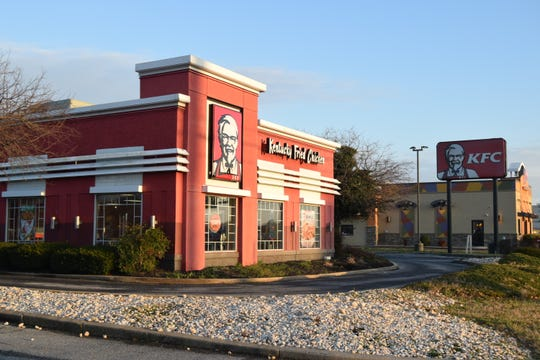 Kentucky Fried Chicken on DuPont Highway in Dover.