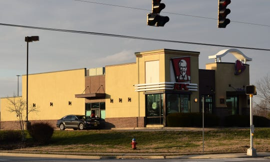 The company that owns this KFC/Taco Bell in Camden is being sued by a former employee claiming gender discrimination related to breastpumping.