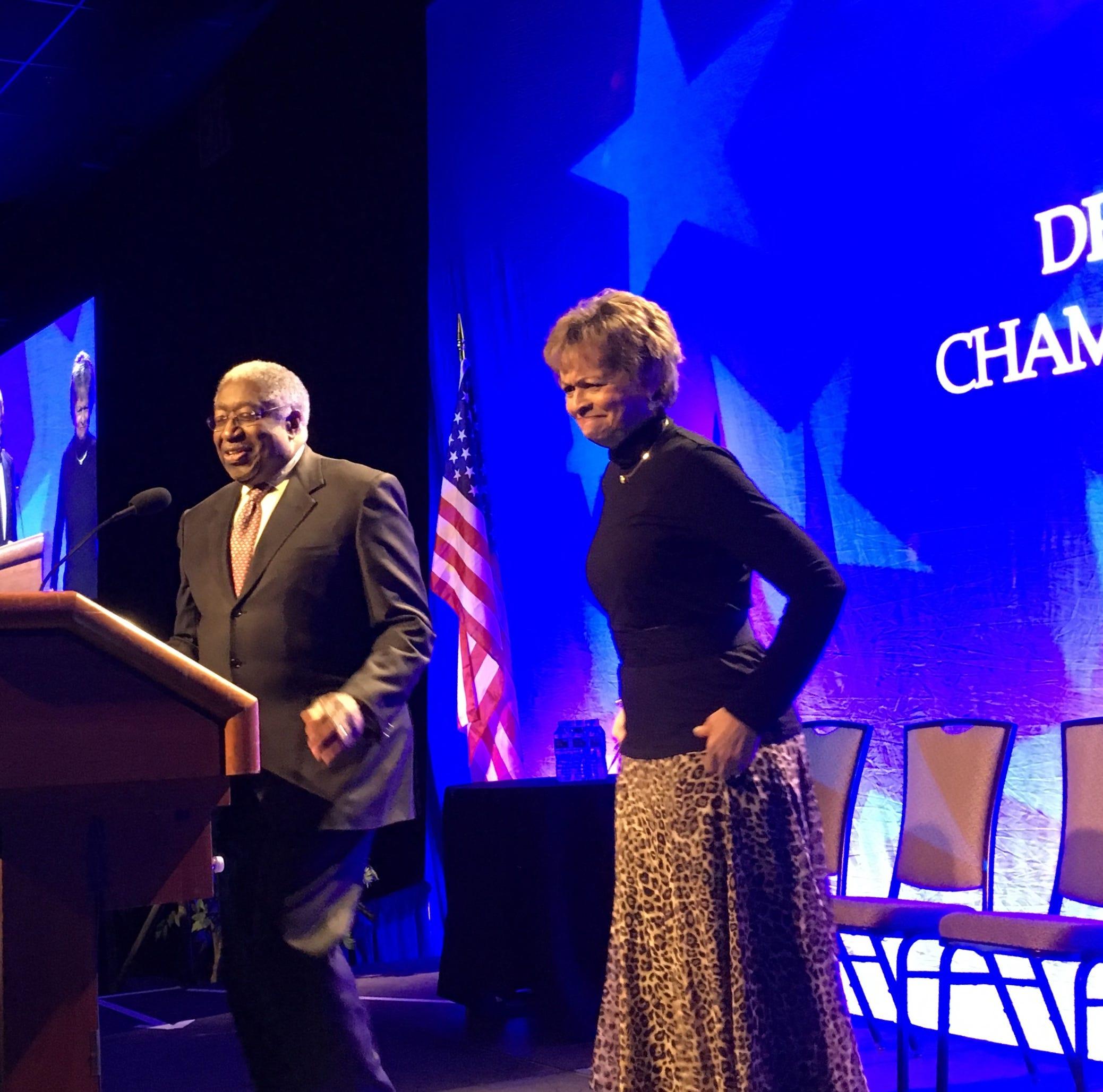 Longtime Delaware power couple wins prestigious Chamber of Commerce award
