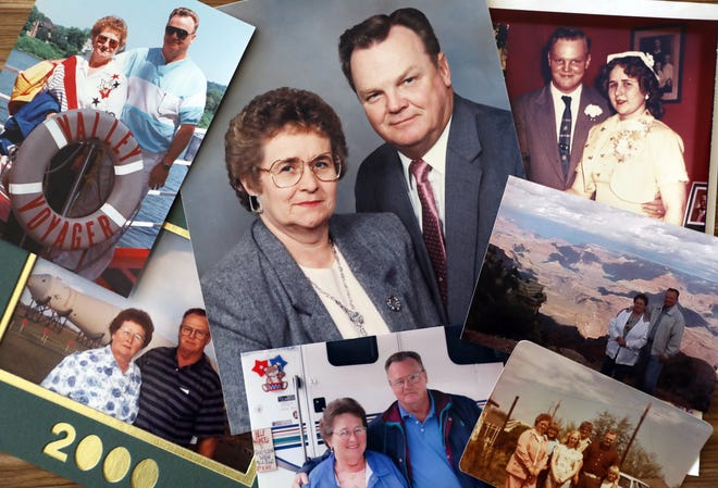 Paul and Janet Brown, both 82, passed away hours apart from each other on Christmas Day. They were married 62 years, and enjoyed travelling once they had raised their four children.