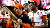 Check out what Clemson coach Dabo Swinney and quarterback Trevor Lawrence had to say after their huge win over Alabama in the national championship.
