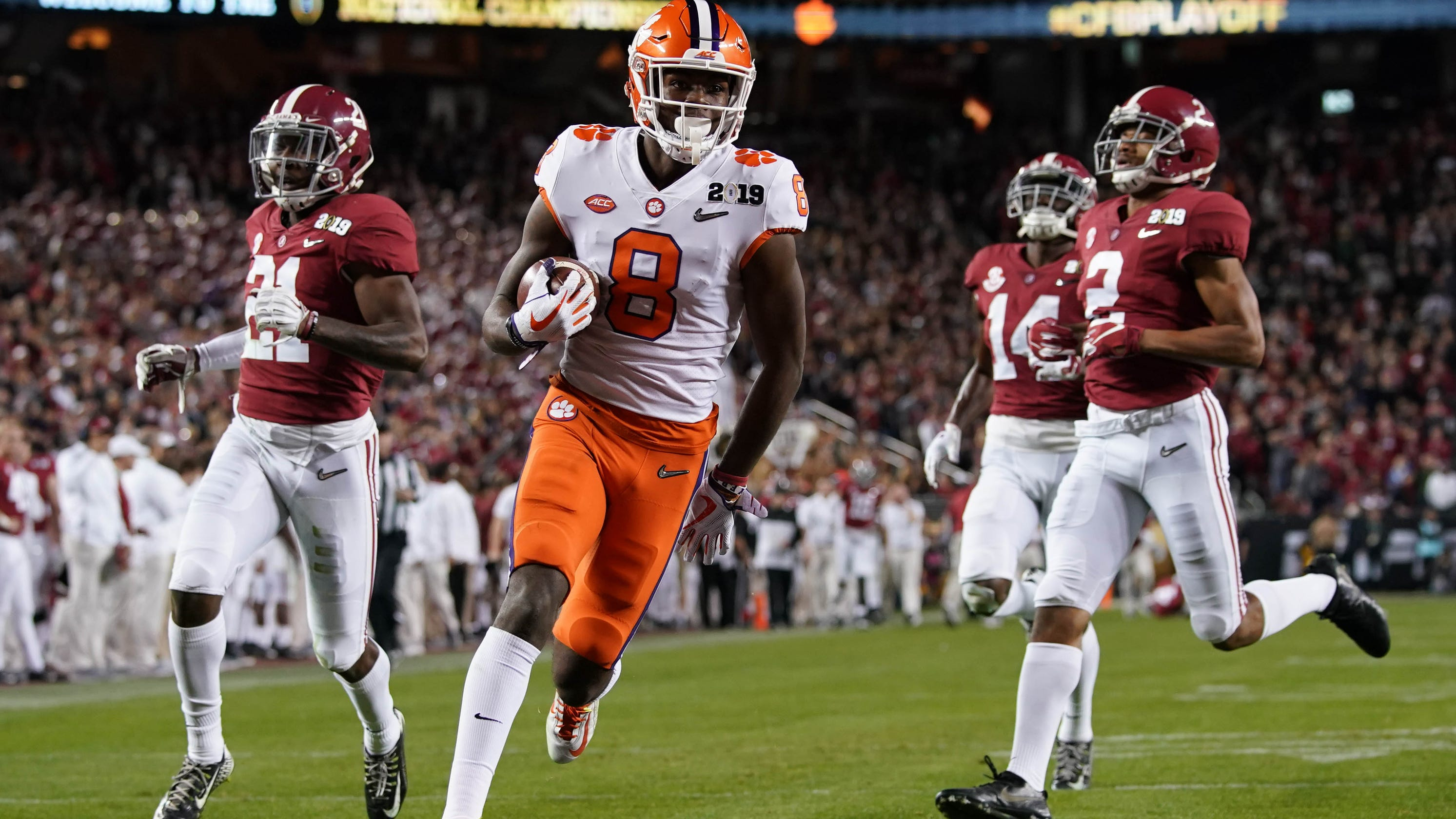 Alabama's defense gets steamrolled by Clemson in national championship game