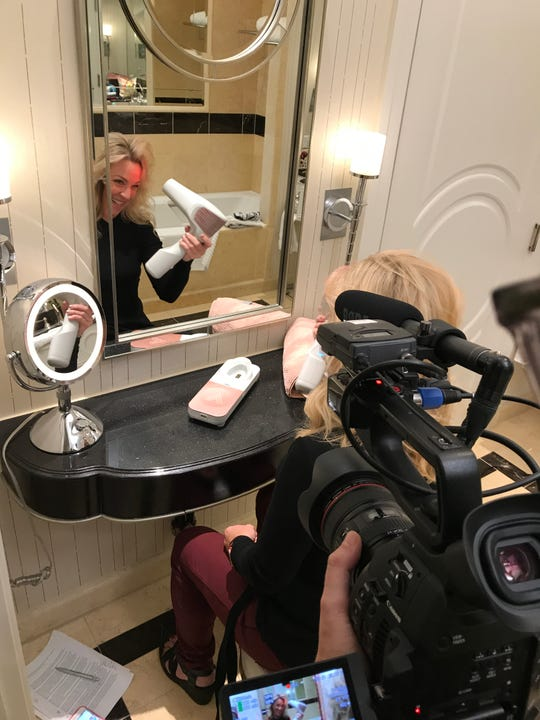 Volo Go cordless hairdryer uses infrared radiant heat to dry your hair.