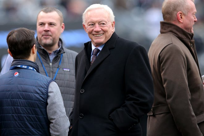 Cowboys owner Jerry Jones has a new toy, a 357-foot superyacht. according to multiple reports.