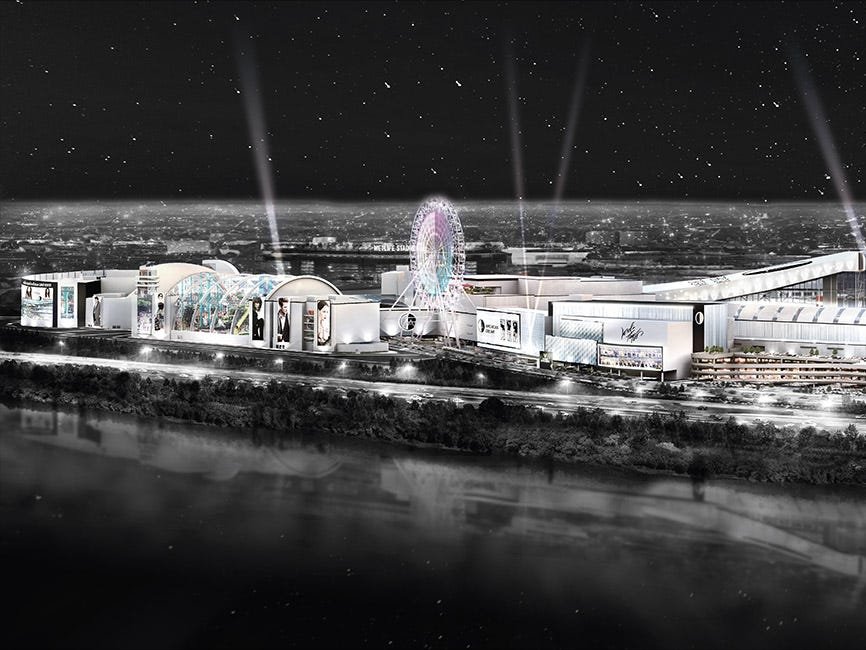 When the 3-million-square-foot American Dream (the third-largest mall in North America) opens in East Rutherford, New Jersey, it will boast more space devoted to entertainment than to retail shops. Leading the lineup will be Nickelodeon Universe, the largest indoor theme park in the Western Hemisphere.