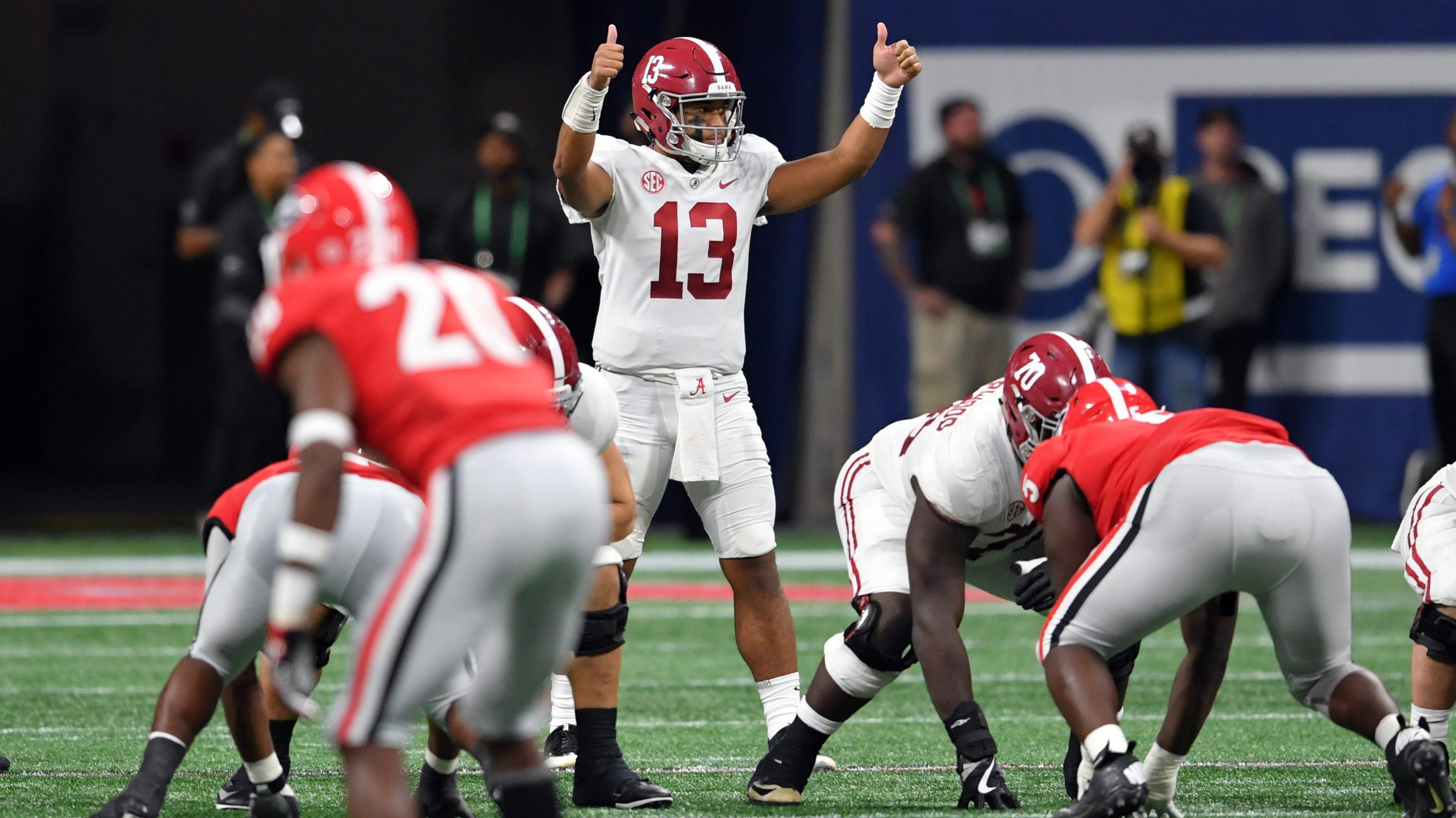 College football: Alabama, Clemson lead Top 25 teams for ...
