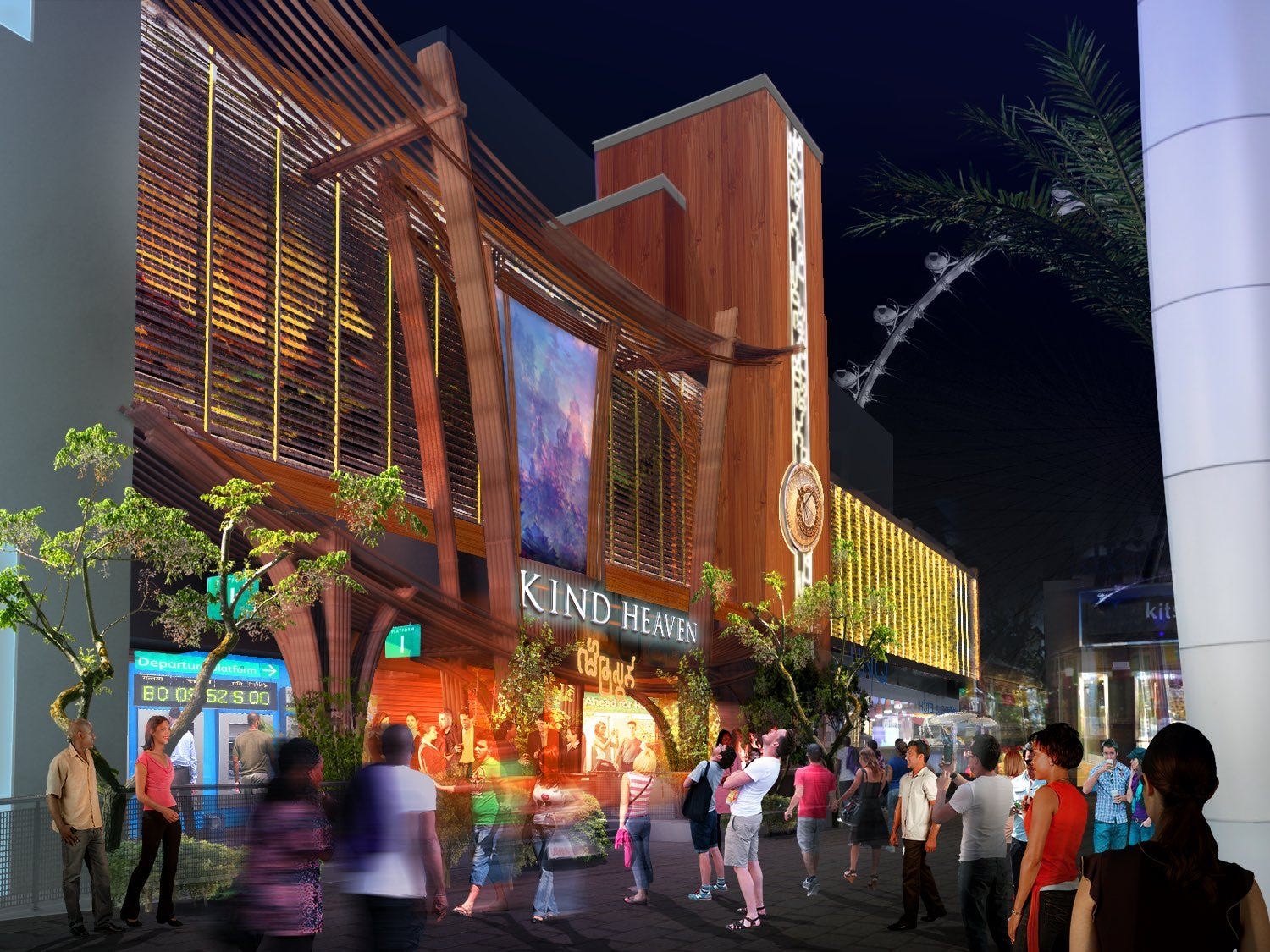 Perhaps the most outré venue to open in 2019 will be Kind Heaven, a hard-to-describe $100 million attraction set to open in the late summer on the Las Vegas Strip. The brainchild of Jane's Addiction front man and Lollapalooza impresario Perry Farrell, it will include dining and live music enveloped in a highly themed experience.