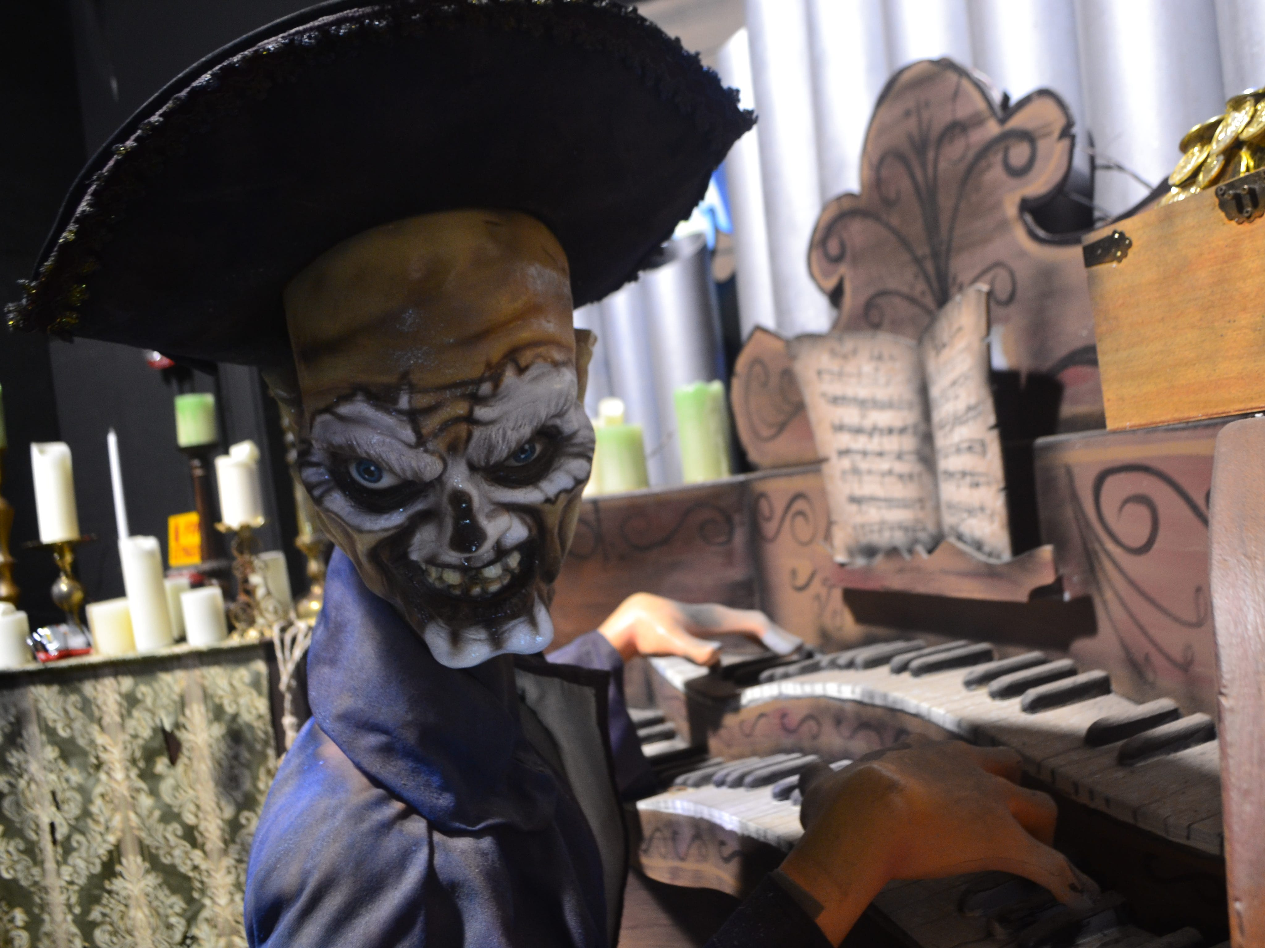 Six Flags Fiesta Texas has re-imagined its interactive dark ride with new, original, seafaring characters. Riders will wage battle against nefarious mermaids and pirates, including the dastardly Captain Morgold, while trying to capture hidden treasures.