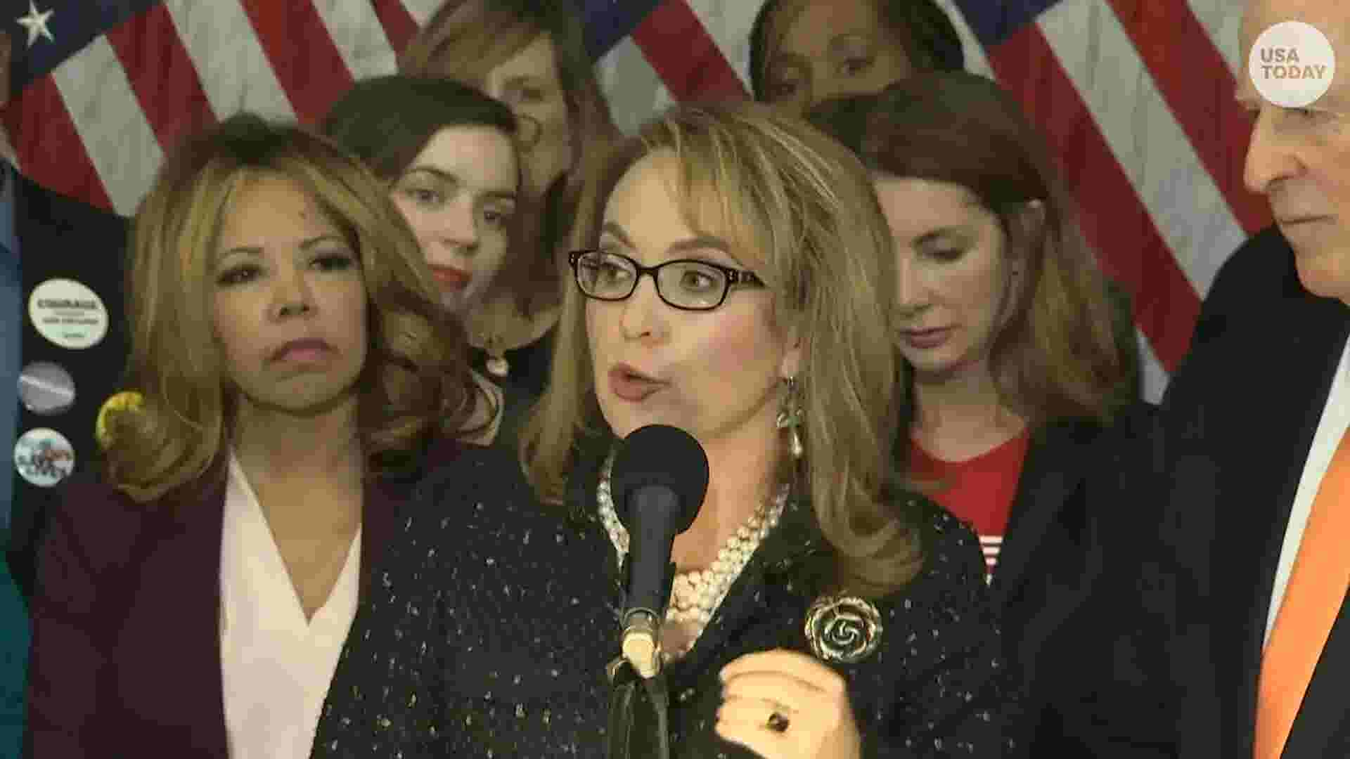 Gabby Giffords: 'We must never stop fighting' for gun control