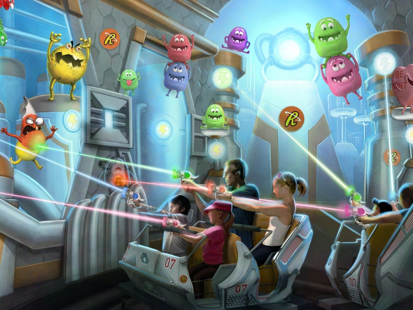 The former Reese's Xtreme Cup Challenge at Hersheypark will morph into Reese's Cupfusion. In the new version of the interactive dark ride, visitors are assigned the mission of protecting the candy factory while scoring points.