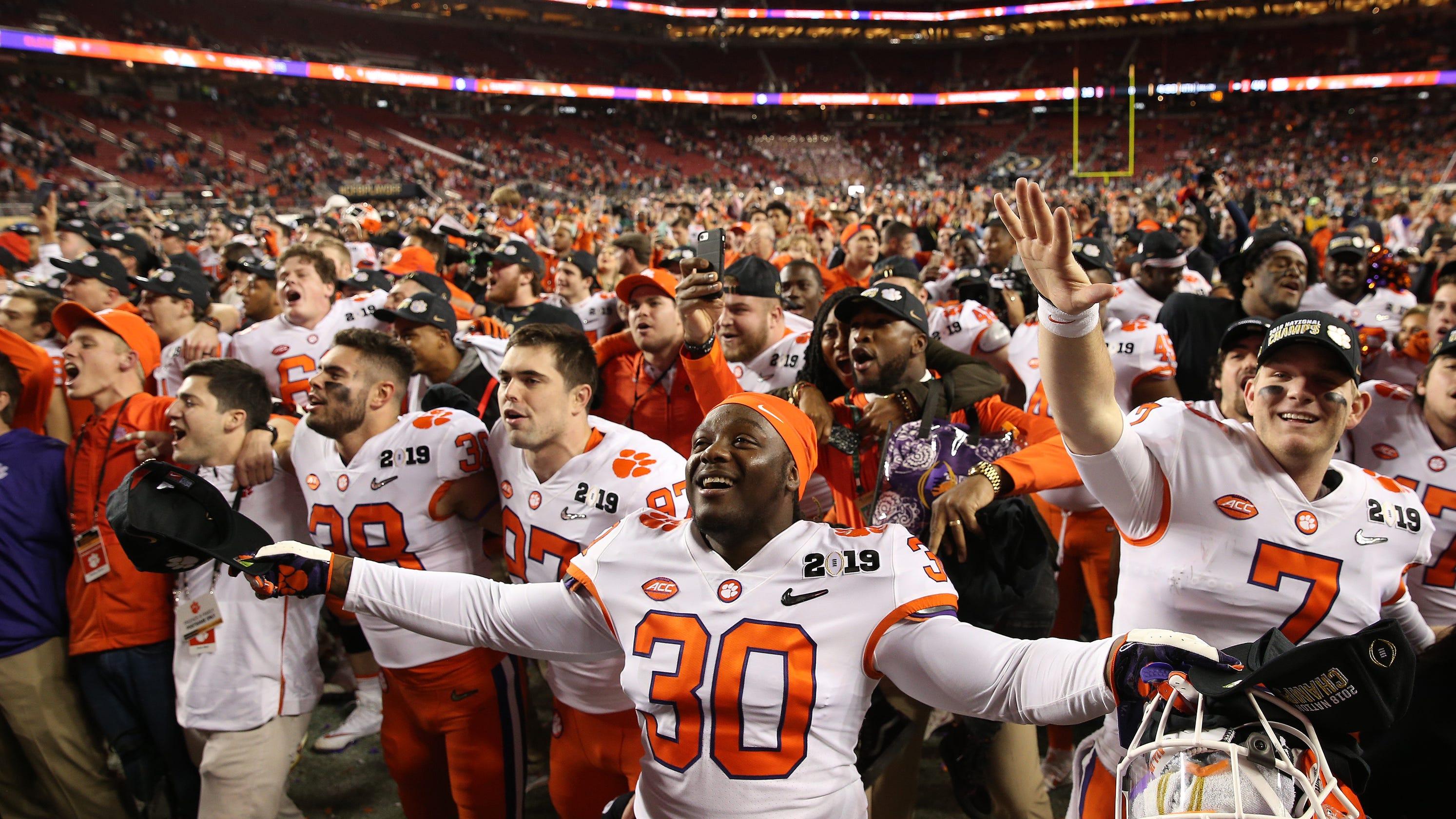 NCAA Re-Rank: Clemson tops final college football list of ...