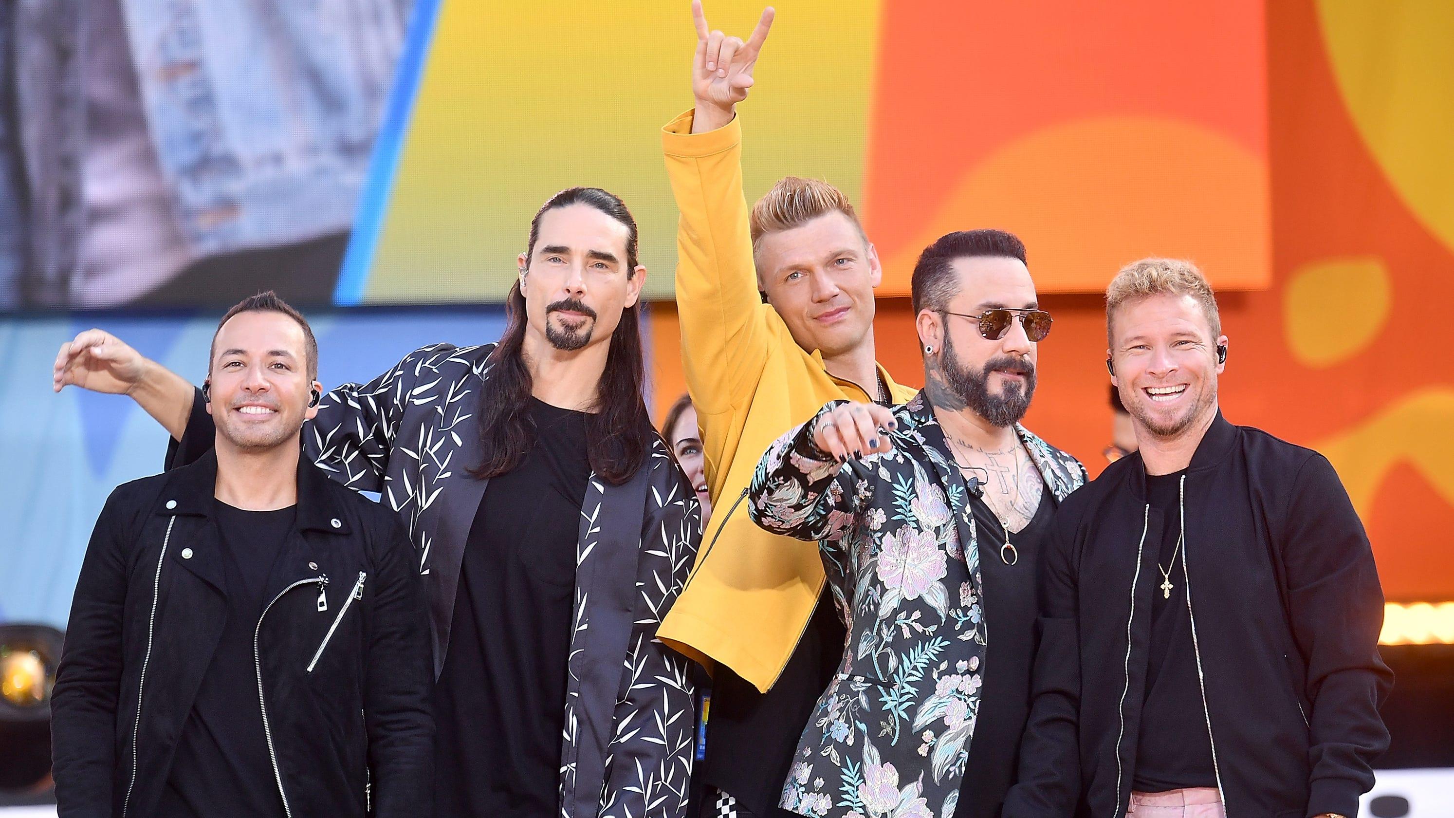 backstreet boys  Backstreet Boys show off kids in adorable 'No Place' music video
