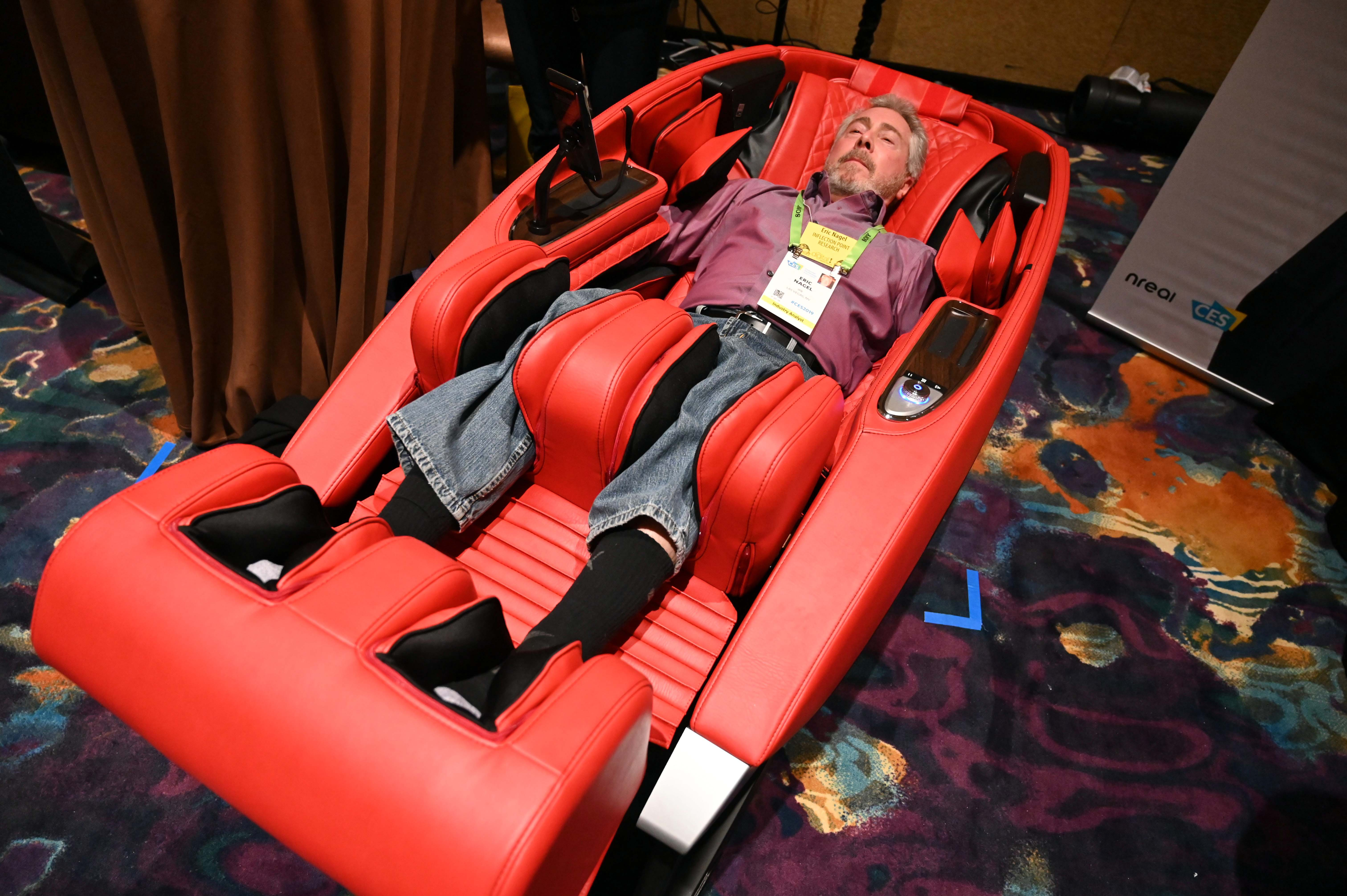 A $10K massage chair? Here are some cool things we're seeing at CES