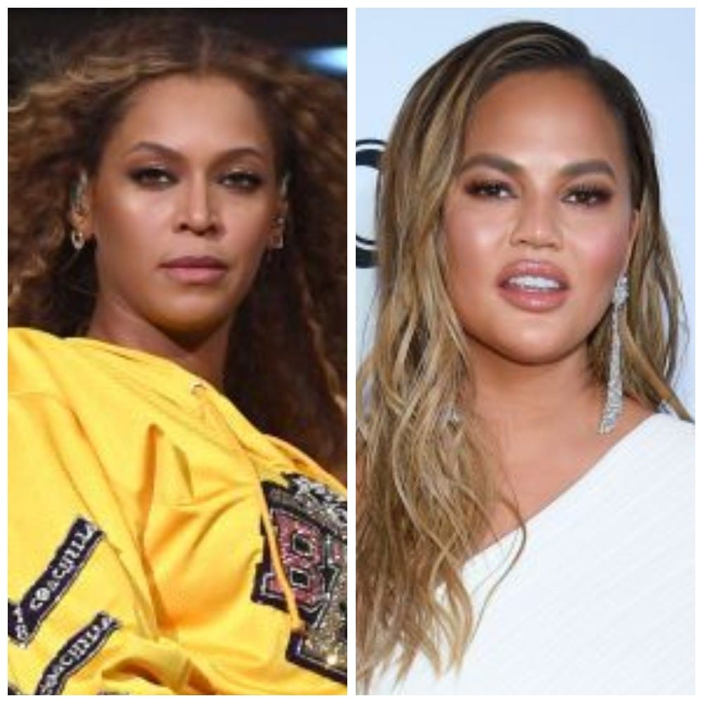 The realities of postpartum, as told by celebrity moms Beyonce, Chrissy Teigen and more