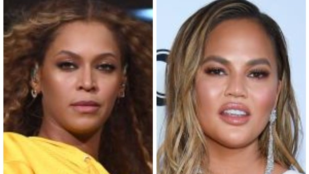 Beyonce shopping at Target? Chrissy Teigen has the perfect reaction, like always