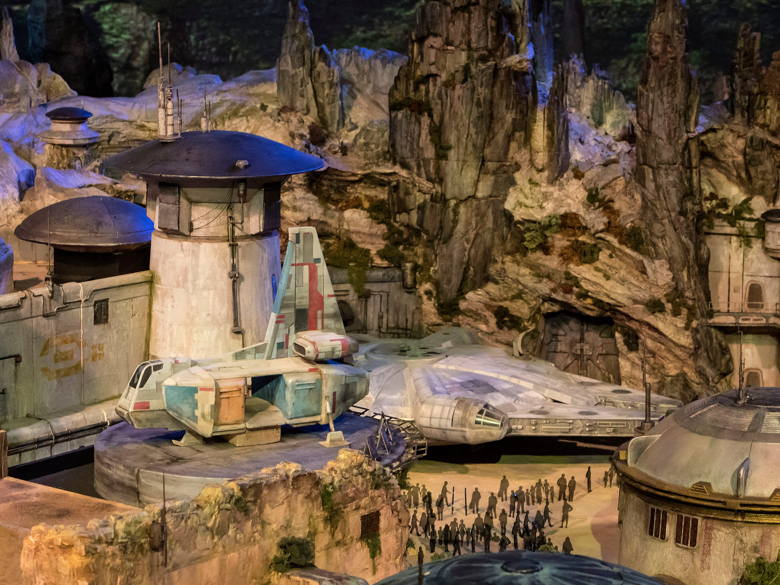 Beyond the rides, expect lots of details to explore, blue milk and other distinctive drinks and dishes to sample, and interactive opportunities to experience, including the chance to meet Kylo Ren. The West Coast Galaxy's Edge will open in the summer, while the galactic gang won't make it to Florida until the fall.