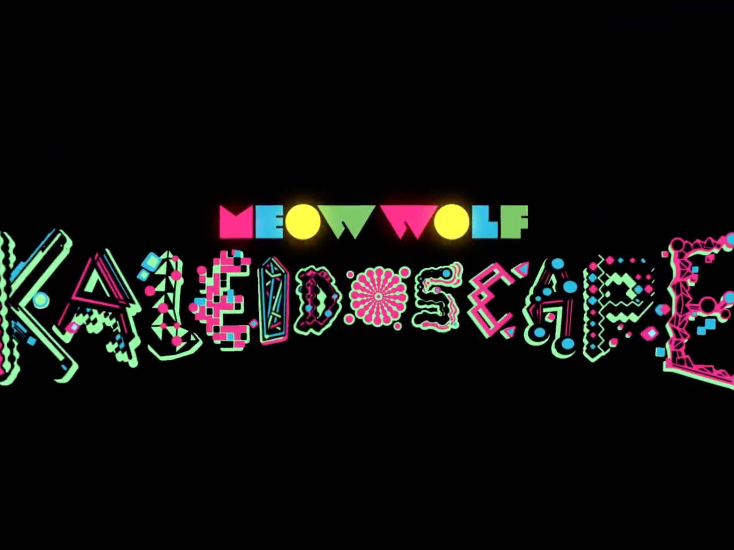 """The art collective Meow Wolf is partnering with Elitch Gardens in Denver to bring what it is describing as the """"first artist-driven dark ride."""" The multimedia attraction, which will open in April, will likely be highly colorful (you know, like a kaleidoscope) and trippy."""