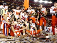 Clemson finishes college football season at No. 1 in final Amway Coaches Poll