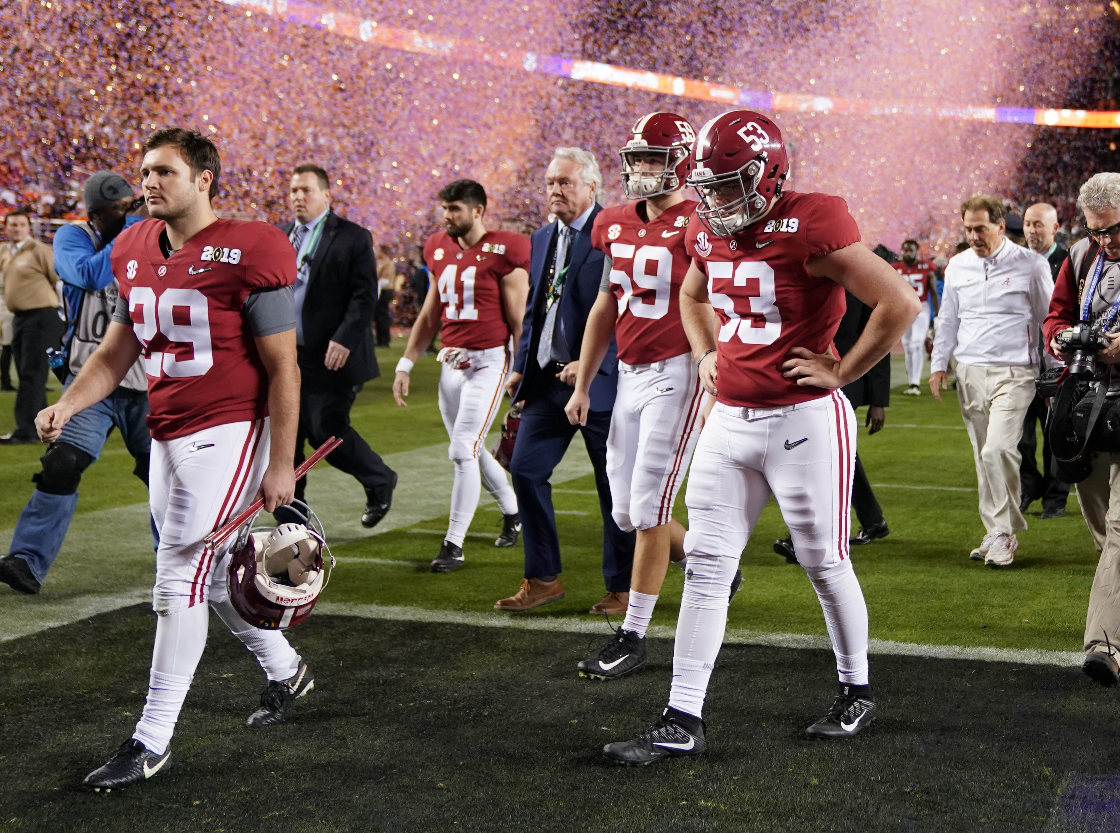 Alabama Defensive Flaws Came Unmasked In Title Game Loss To Clemson