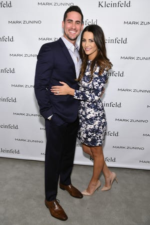 "Former ""Bachelorette"" couple, Josh Murray and Andi Dorfman in 2014."