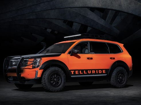 The Kia Telluride Horizon Roamer.