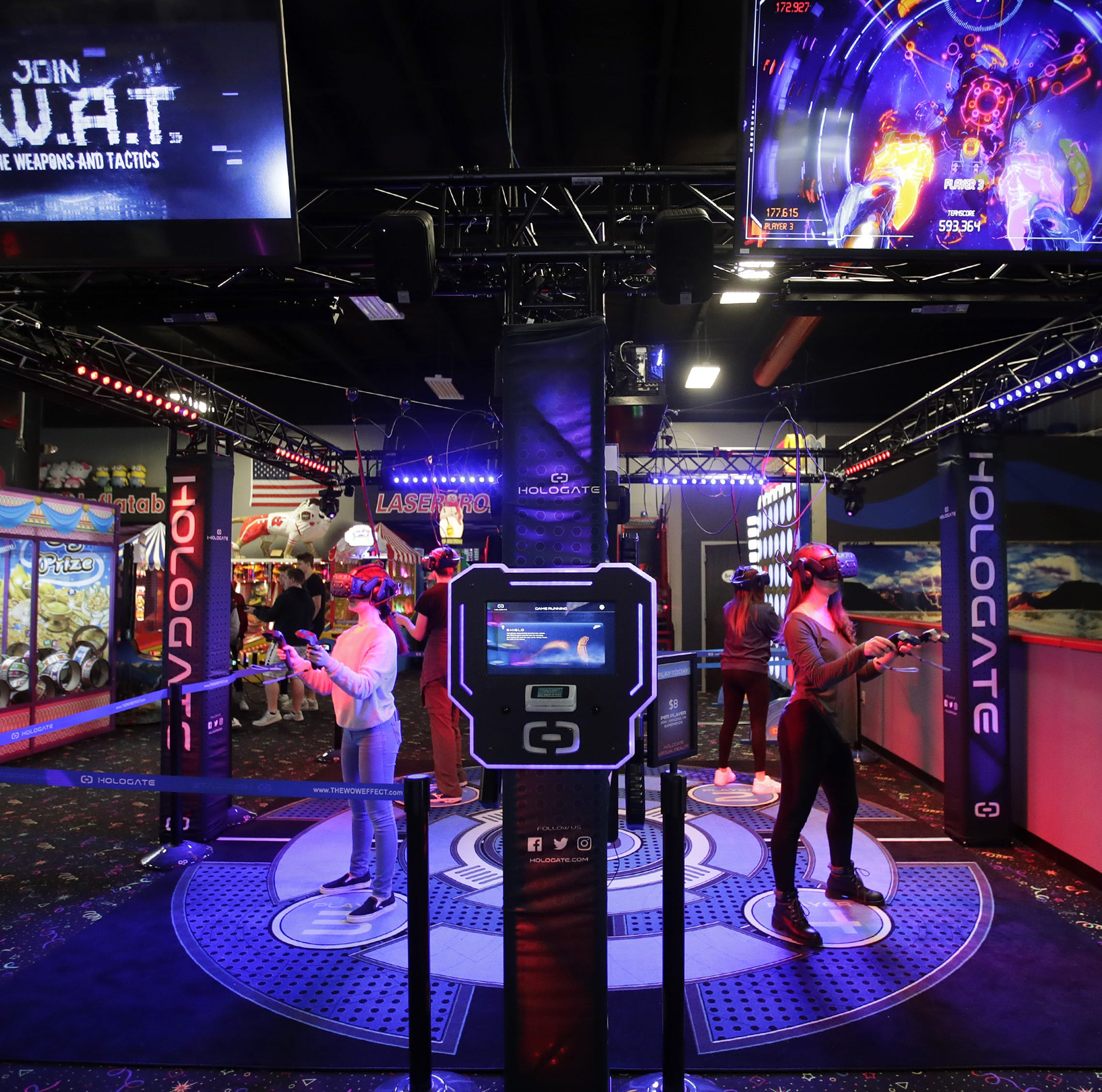 'Bigger, faster, brighter': Badger Sports Park ups its game with VR and laser tag overhaul