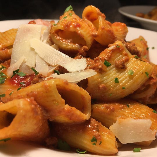 At Neapoli in Red Bank, the restaurant's housemade pasta entrees are half price on Tuesdays.