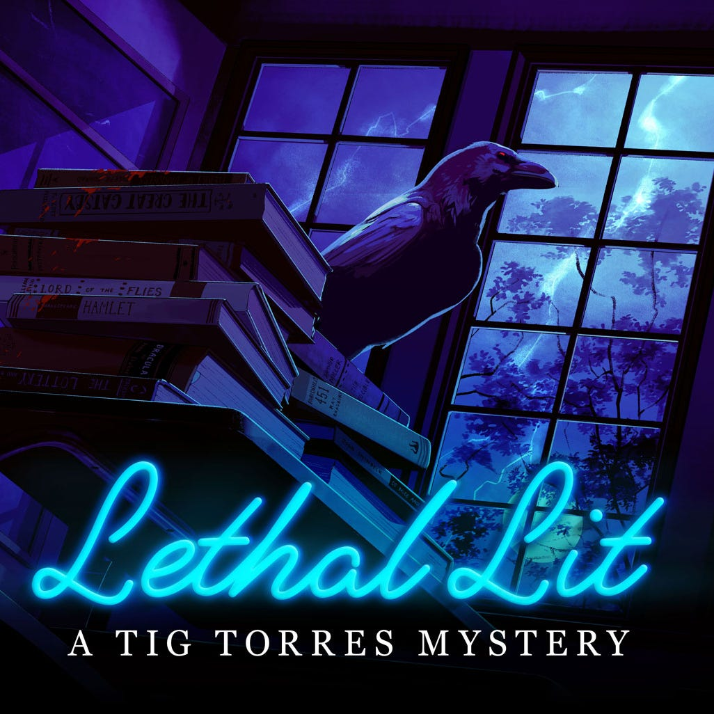 Lethal Lit podcast brings murder mystery to a YA audience