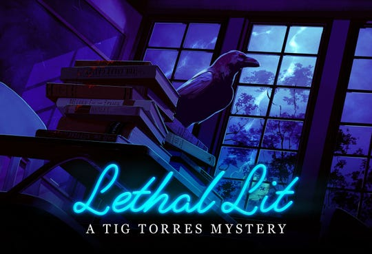 "The first season of the podcast ""Lethal Lit: A Tig Torres Mystery"" is now available."