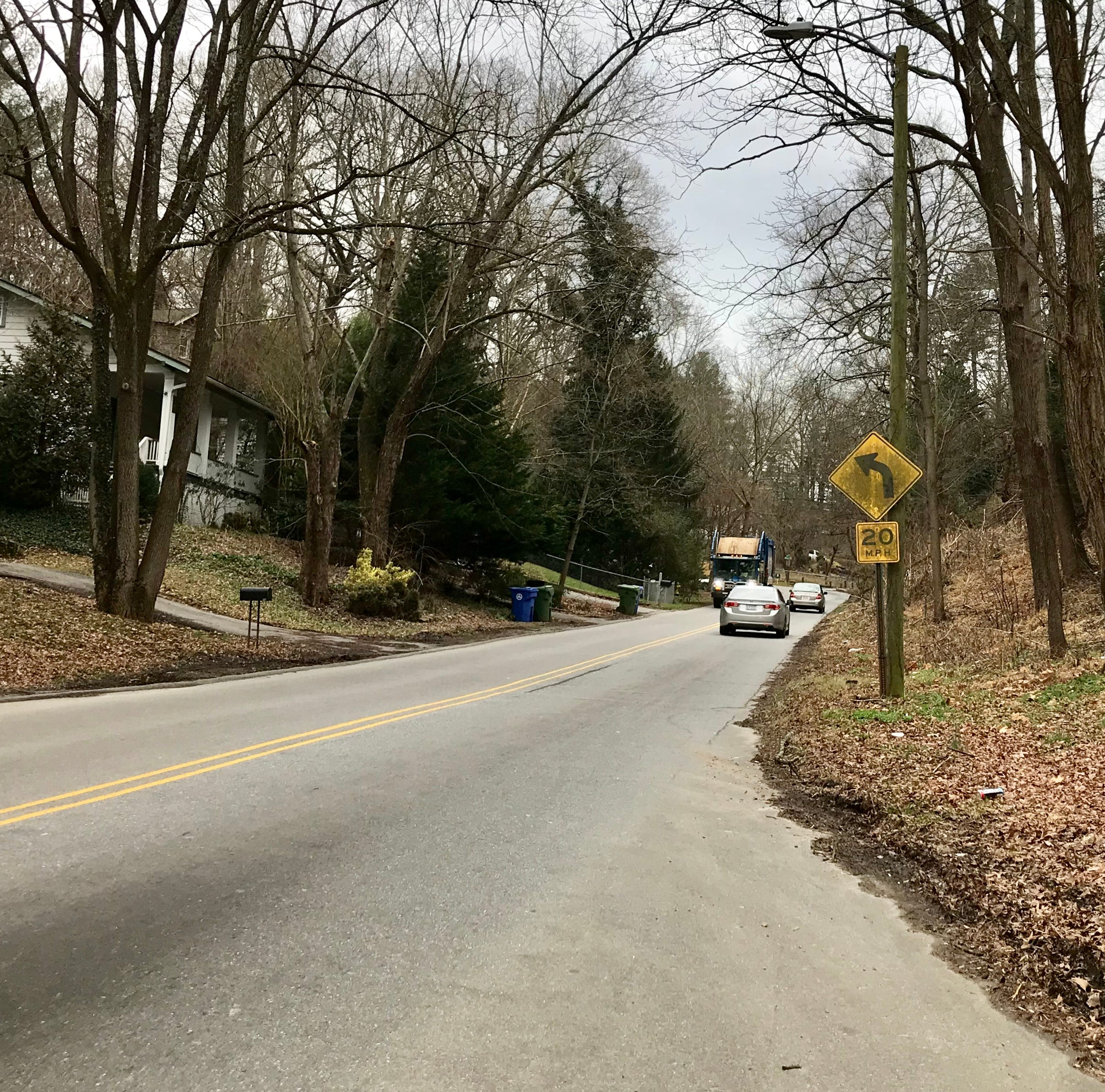 Answer Man: 'Dead man's curve' in East Asheville, i.e. Wood Avenue, to get new sidewalks?