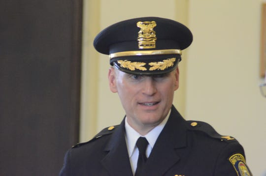 Battle Creek Police Chief Jim Blocker
