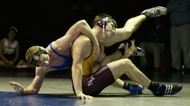South Kitsap's Brent Chriswell won two state wrestling championships, including in 2006, before going on to win three Pac-10 titles. He will be inducted into the Kitsap Sports Hall of Fame later this month.