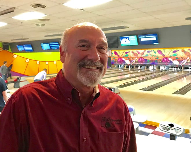 Randy Longe stands on Jan. 8, 2019, inside the Champlain Lanes bowling center, which his father opened in 1964 on Pecor family property in Shelburne. On May 15, 2019 the center will close following a last tournament.
