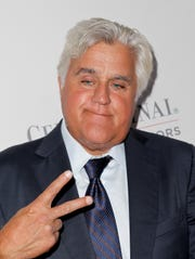 Jay Leno attends the Cedars-Sinai Board of Governors Gala at The Beverly Hilton Hotel on October 13, 2015 in Beverly Hills, California.  (Photo by Tibrina Hobson/WireImage) ORG XMIT: 582853159 ORIG FILE ID: 492563542