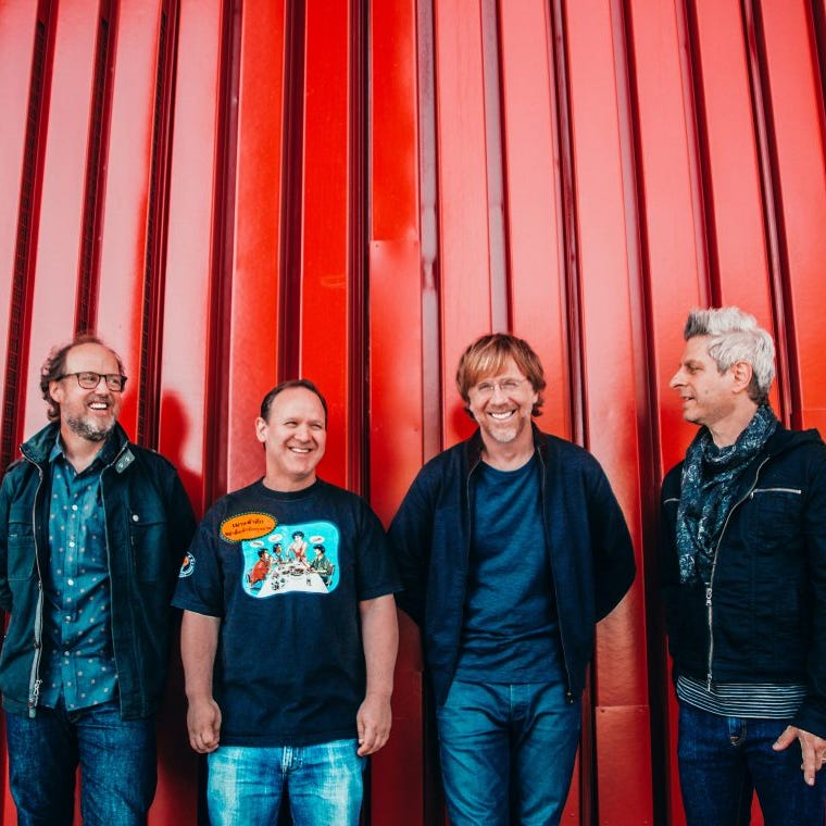 Phish to bypass Vermont again on summer tour, but will play shows in Saratoga, Fenway Park