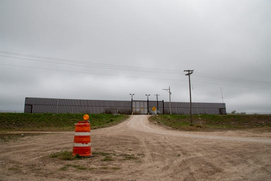 A border fence in Hidalgo, Texas near the McAllen-Hidalgo International Bridge on Wednesday, Jan. 9, 2019. President Donald Trump is scheduled to visit the area two days after his prime time speech to the nation amid the ongoing government shutdown related to his demand for approval of funding for a border wall or barrier.