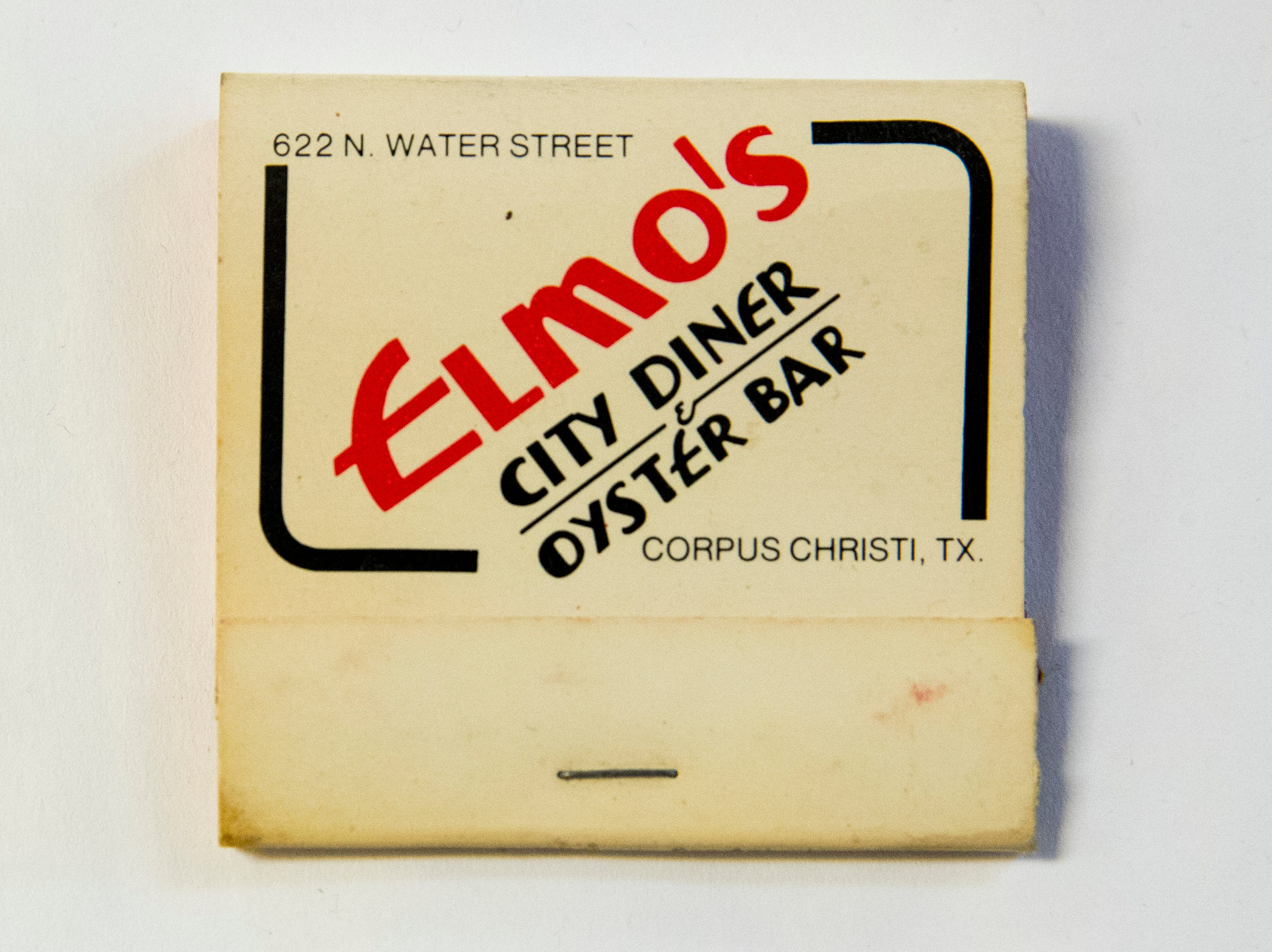 Elmo's City Diner & Oyster Bar was located at 622 N. Water Street in Corpus Christi.