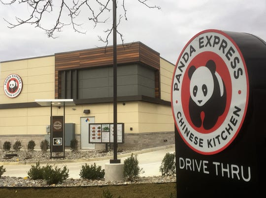 Panda Express opened its first South Jersey restaurant at the Walmart shopping center on Route 38 in Cherry Hill.